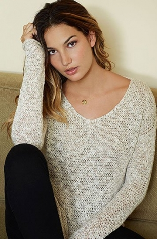 Supermodel Lily Aldridge Designs for Velvet by Graham & Spencer