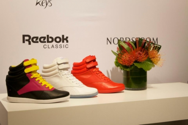 Alicia Keys x Reebok Wedge Sneakers 2013