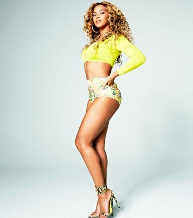 Beyonce Shares Post Baby Weight Loss Tips with Shape.
