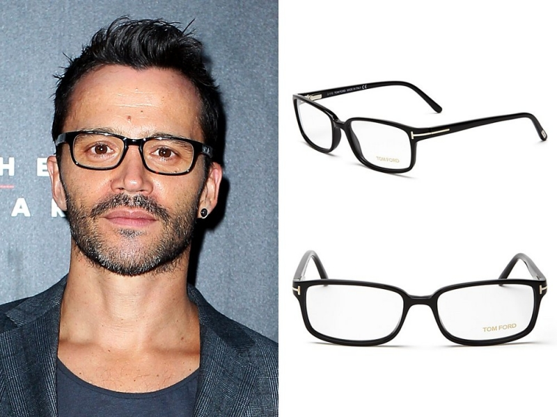 Mens Eyeglasses for Big Foreheads.