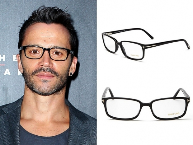 Glasses Frames For Wide Face : Mens Eyeglasses for Big Foreheads.