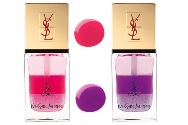 Yves Saint Laurent La Laque Couture Tie and Dye Spring 2013