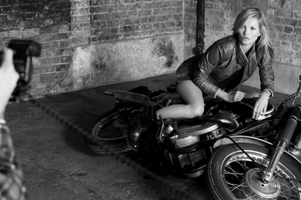 Kate Moss Goes Biker Chick for Matchless Campaign