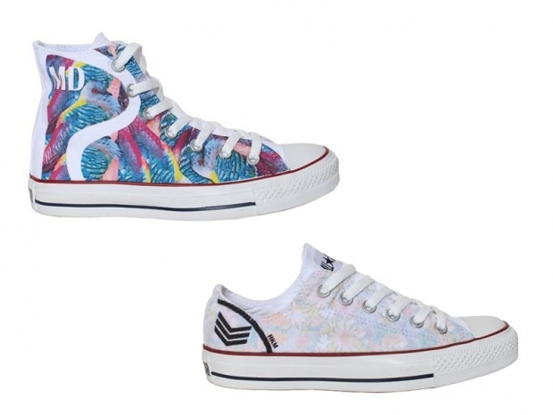 Tibi Spring Sneakers 2013 - Personalized Converse & Vans