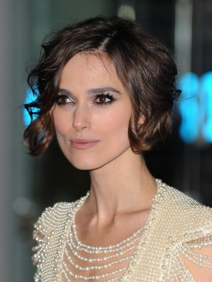 Keira KnightleyBob Haircut