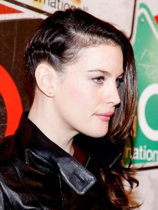 Liv Tyler Braid Faux Undercut