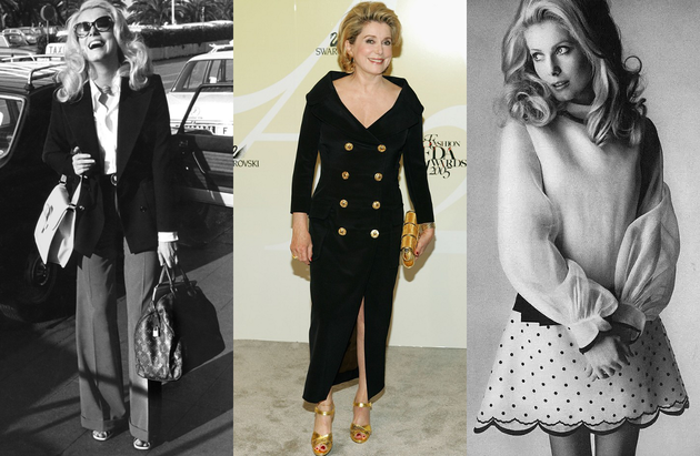 Catherine Deneuve Fashion Style