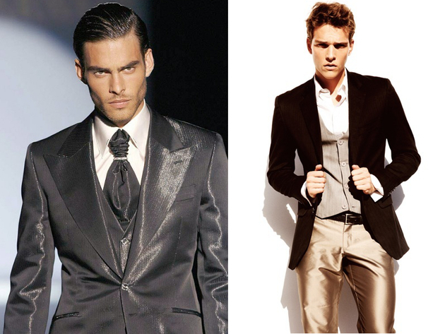 Mens Shiny Suits