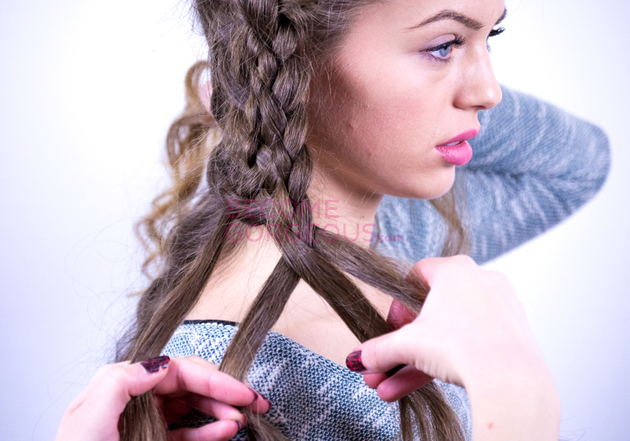 Seven Strand Braid Steps