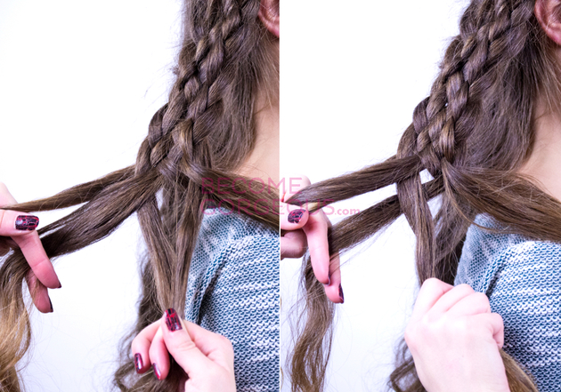 Steps For Seven Strand Braid