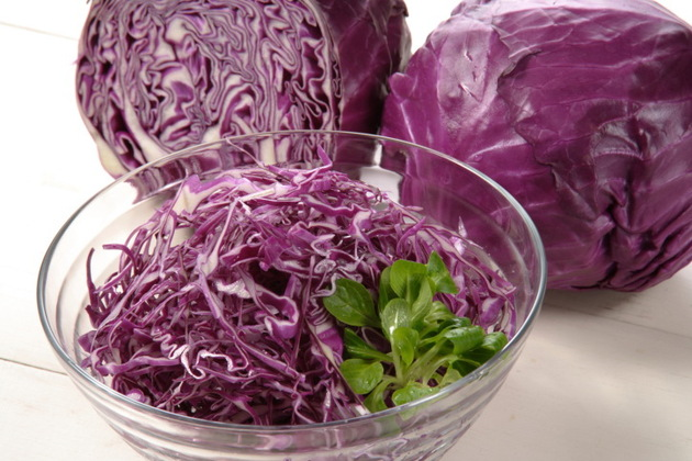 Red Cabbage With Negative Calories