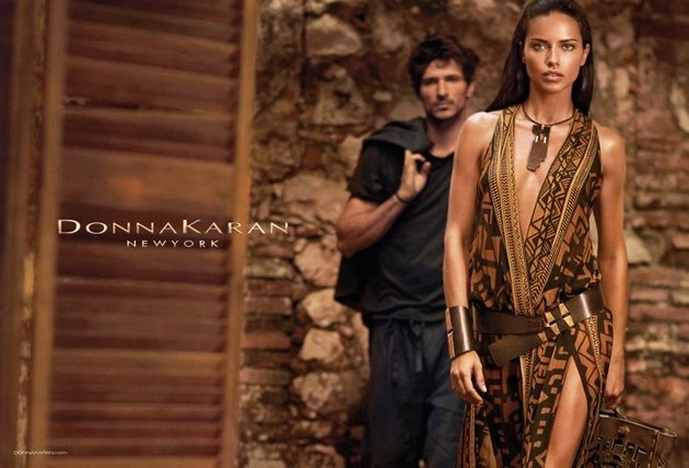 Adriana Lima for Donna Karan Spring/Summer 2014 Campaign