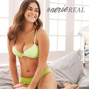 Aerie Retouch Free 2014 Lingerie Campaign