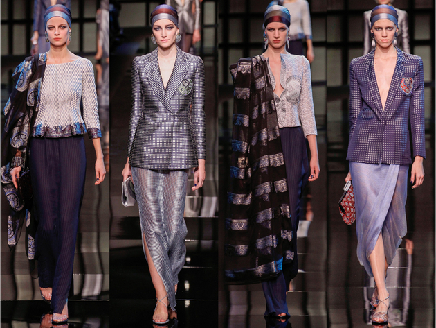 Armani Privé Spring 2014 Couture Collection Set  (1)