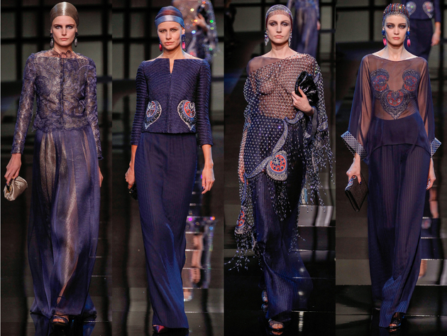 Armani Privé Spring 2014 Couture Collection Set  (5)