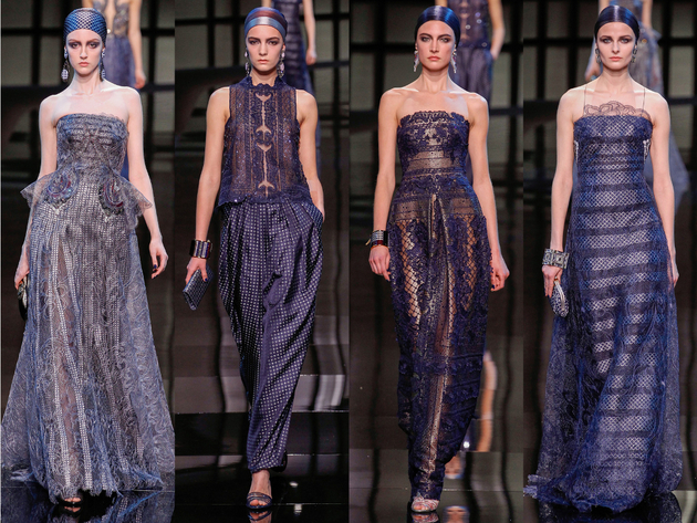 Armani Privé Spring 2014 Couture Collection Set  (6)