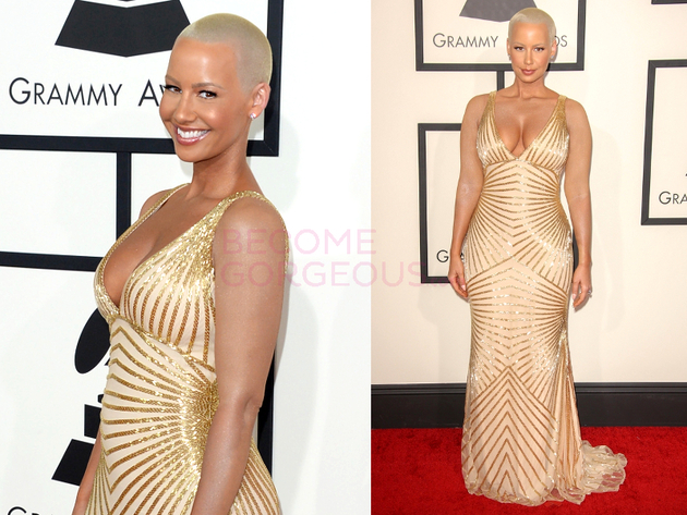 Amber Rose Grammys 2014 Dress