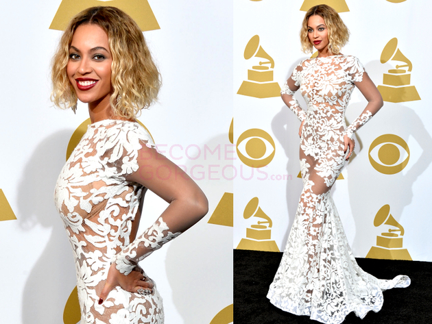 Beyonce Grammys 2014 Dress