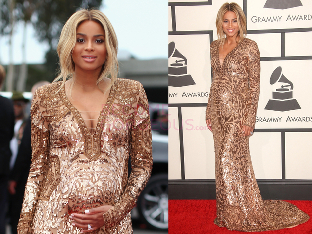 Ciara Grammys 2014 Dress