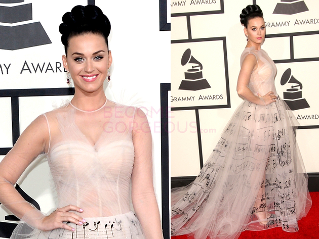 Katy Perry Grammys 2014 Dress
