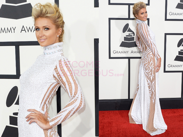 Paris Hilton Grammys 2014 Dress