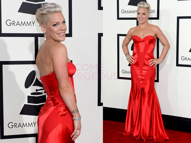 Pink Grammys 2014 Dress