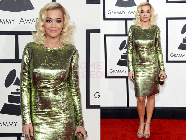Rita Ora Grammys 2014 Dress