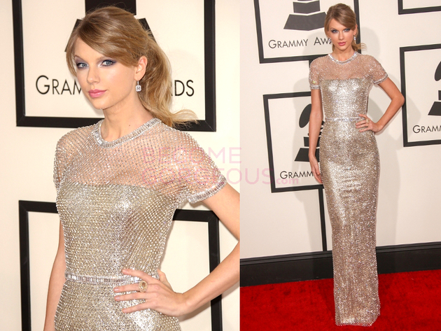 Taylor Swift Grammys 2014 Dress