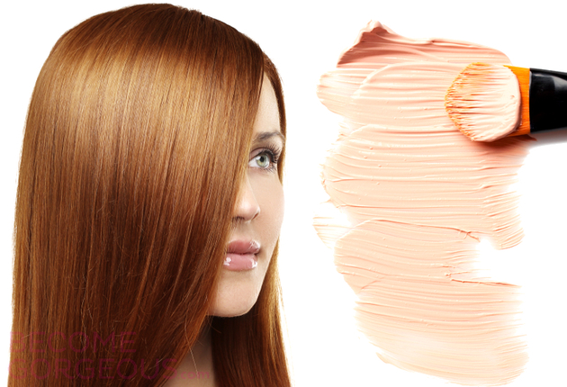 Face Makeup For Redheads