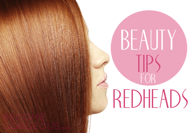 Best Beauty Tips for Redheads