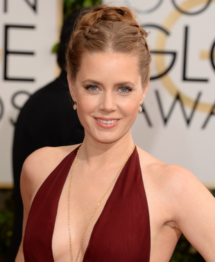 Amy Adams 2014 Golden Globes Makeup