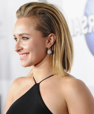 Hayden Panettiere 2014 Golden Globes Hair