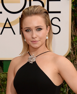 Hayden Panettiere 2014 Golden Globes Hair And Makeup