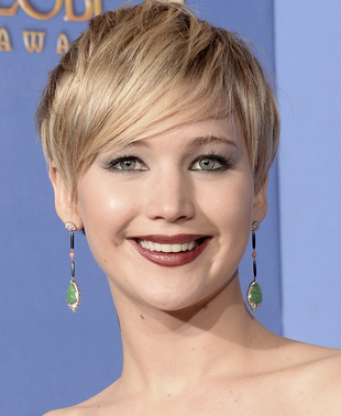 Jennifer Lawrence 2014 Golden Globes Makeup Zoom