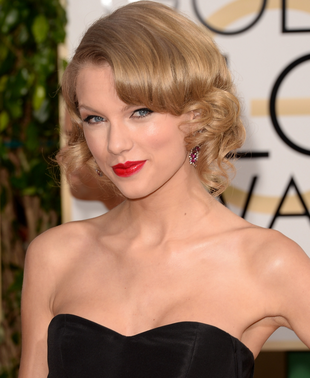 Taylor Swift 2014 Golden Globes Hair And Makeup
