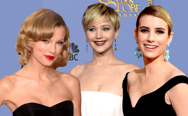 Best Golden Globes 2014 Hair & Makeup Looks