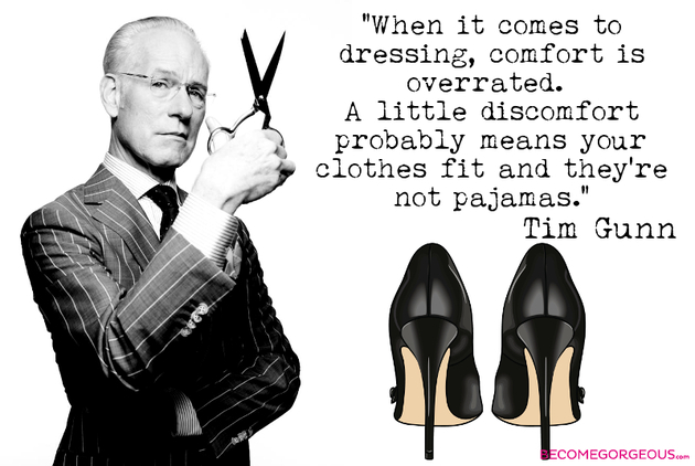Tim Gunn Quotes Style