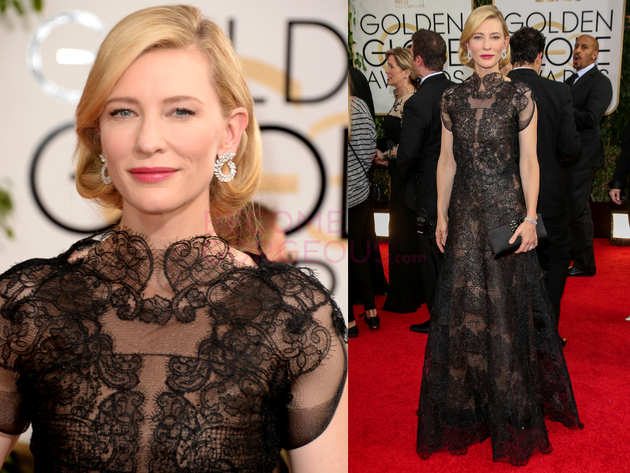 Cate Blanchett 2014 Golden Globes Dress