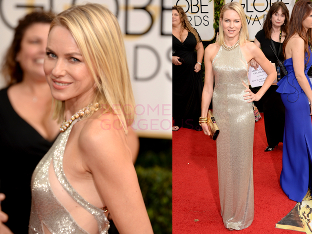 Naomi Watts 2014 Golden Globes Dress
