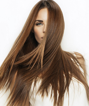 Long Straight Layered Hair By Franck Provost