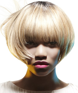 Rounded Bob Hairstyle By Francesco Group