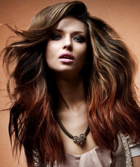 Pictures  Biggest Hairstyle Trends 2014  Ombre Hair Color Trend By Saks