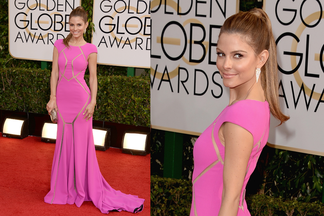 Maria Menounos 2014 Golden Globe Awards