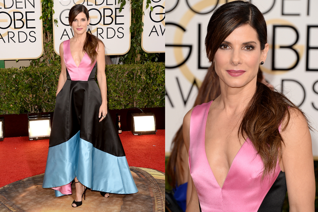 Sandra Bullock 2014 Golden Globe Awards