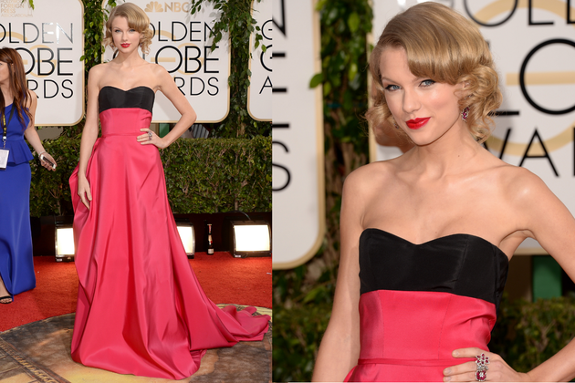 Taylor Swift 2014 Golden Globe Awards