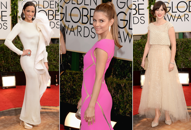 Celebrity Red Carpet Style at the 2014 Golden Globe Awards