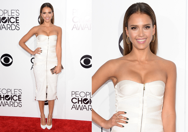 Jessica Alba People's Choice Awards 2014