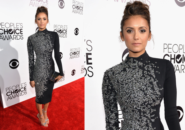 Nina Dobrev People's Choice Awards 2014