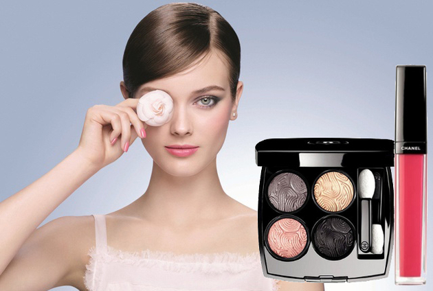 Chanel Jardin de Camelias Spring 2014 Makeup Collection