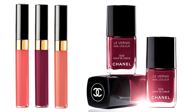 Chanel Variation Spring 2014 Lipgloss And Nail Polish